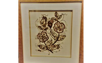 Stickerei Blumen 1
