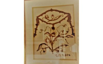 Stickerei Blumen 3