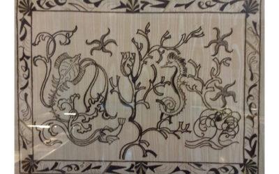 Wandteppich 'Vita di mare' 2