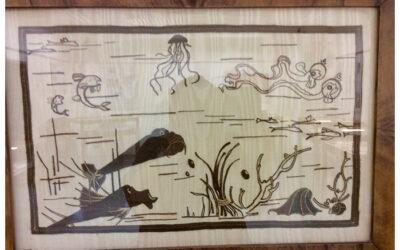 Wandteppich 'Vita di mare' 1